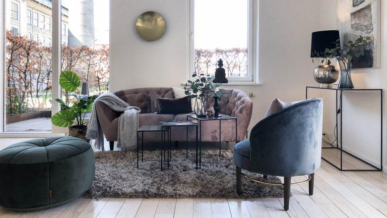 Lejlighed før og efter boligstyling